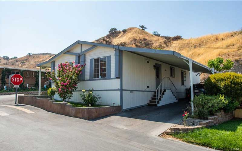 Sand Cyn Home Front Exterior