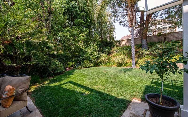 Backyard Garden at 23253 Sorrel Court