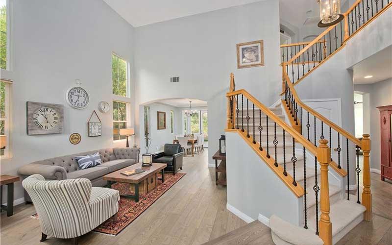 Interior Stairs 23253 Sorrel Court