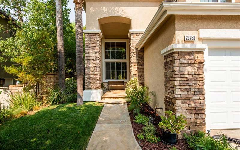 Walkway to Home at 23253 Sorrel Court